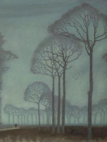 Bomenrij, 1915 69 x 52 collectie More